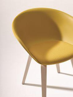 Sedia ergonomica in polipropilene Collezione Duna 02 by Arper | design Lievore Altherr Molina