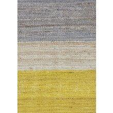 Brita Sweden Field Vloerkleed Hennep 250 x 170 cm - Geel