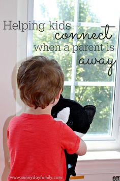 Help kids feel connected and reduce meltdowns when a parent is away with these tips! #CloudPetsForever @CloudPets @Walmart [ad]
