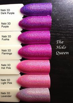Nabi 3D Holographic Swatches.