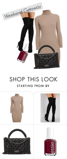 """""""wknd"""" by jkajsa on Polyvore featuring Rumour London, Liliana, Chanel and Essie"""