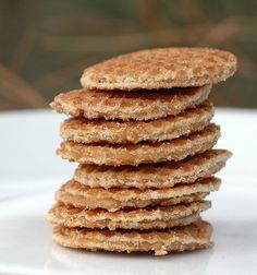 Dutch stroopwafels ('syrup waffles')