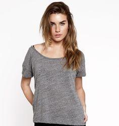 Women's Blank Tee Grey – Buy Me Brunch