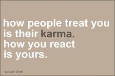 Karma Reaction