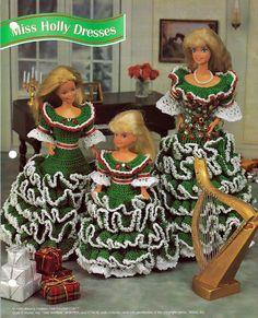 Miss Holly Dresses Crochet Pattern Annies by grammysyarngarden