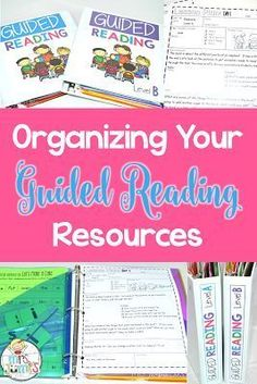 Organizing all your guided reading materials can be a headache! Let me help you by showing you how I organize all my materials!