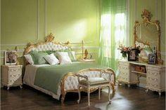 Vintage Green Bedroom