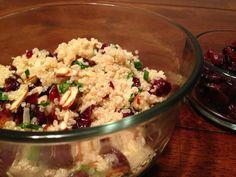 Hearty & Healthy Cranberry Quinoa Salad