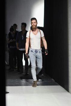 Niyazi Erdogan backstage #Men's wear #Trends  2014 #Tendencias #Moda Hombre