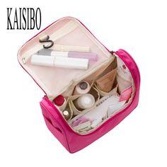 2016 Beautician Waterproof Cosmetic Bags Bath Wash Makeup Make Up Cosmetic Bag Korean Organizer Storage Travel Toiletry Bags