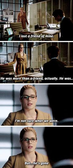 Felicity Smoak - Left Behind