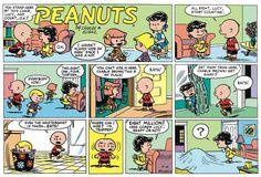 Peanuts Begins Comic Strip, August 21, 2016     on GoComics.com