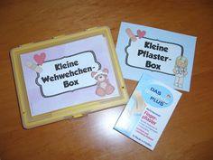 Klassenzimmergestaltung in der Grundschule: Kleine Wehwehchen-Box