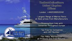 http://www.theboatonlinestore.co.uk/ TheBoatOnlineStore United Kingdom . Chandlery Online for UK. Marine Parts from Manufacturers to the Best prices.
