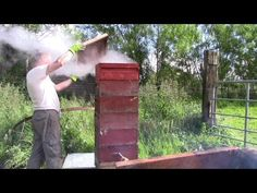 Homemade Steam Wax Extractor And Hive Sterilizer