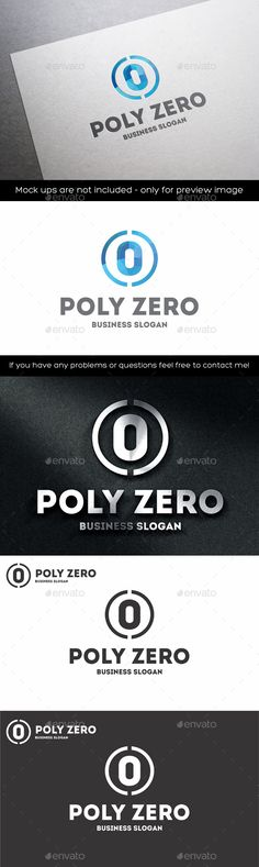 Zero Number Polygonal  Logo Design Template Vector #logotype Download it here: http://graphicriver.net/item/zero-number-polygonal-logo/11203676?s_rank=56?ref=nesto
