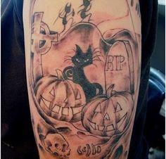 Total Stylish : Top 9 Halloween tattoo designs