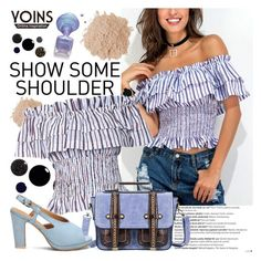 """""""YOINS"""" by gaby-mil ❤ liked on Polyvore featuring Balmain, Eve Lom, yoins, yoinscollection and loveyoins"""
