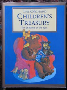 The Orchard Children's Treasury Book Nursery Rhymes Stories Poems VG HC Classics