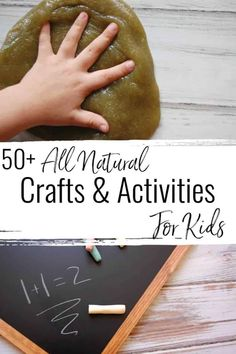 Are you in search of more ways to keep your kiddos busy? More ways to enhance their playtime? Check out this list of amazing all natural crafts and activities for kids! How To Make Glue, Crafts To Make, Crafts For Kids, Kids Craft Supplies, Craft Activities For Kids, Preschool Art, Sensory Activities, Natural Baby, Natural Living