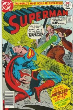 Superman 310 Comic Cover