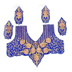 Fancy Embroidered Choli Patches