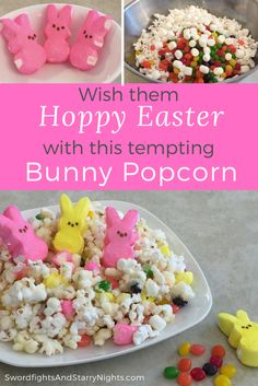 Bunny popcorn is a delicious treat that makes enough to share!