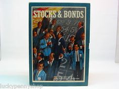 1964 Stocks & Bonds Vintage Game http://www.luckypennyshop.com/toys.htm