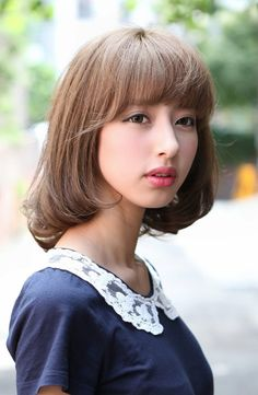 Thinking of cutting my hair this short >__< still debating never had it this short!!