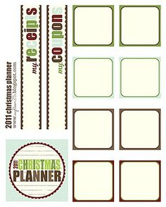 christmas planner... need to do this so I can remember from year to year who has what in the ornament department.