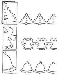 Weihnachtsgirlanden - Tolle Bastelidee für Kinder!!