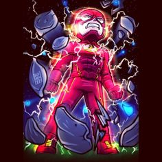 "Lord Mesa Art — ""Worst Enemy"" @grantgust @cwtheflash is it too... - Visit to grab an amazing super hero shirt now on"