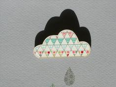 Cloud 2 Washi Tape Brooch par kotoridesign sur Etsy