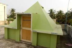 Pavanasuta Pyramid Meditation Center,year of construction : 2009 size : 12ft x 12ft (roof top) | capapcity : 15 persons cost incurred :  50,000 | type of structure : RCC timing : 6AM-6PM, open for public use technical support : Madhava contact : B V Venkateswara Rao & Suryakala mobile : +91 9291672377 address : D.no 27-3-84, Official Colony first line, Srinagar, Gajuwaka http://www.pyramidseverywhere.org/pyramids-directory/pyramids-in-andhra-pradesh/coastal-andhra/visakhapatnam-district