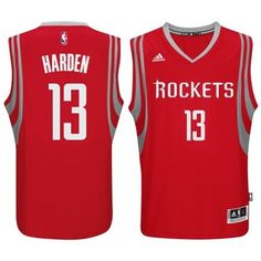 fb95f3682320 James Harden Houston Rockets Adidas Swingman Road Jersey