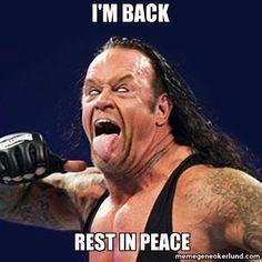 undertaker funny | ... Undertaker RIP | Meme Gene Okerlund - Wrestling Memes & Funny WWE