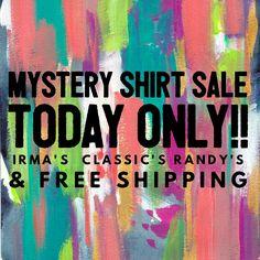 LuLaRoe Mystery Shirt Sale Wordswag