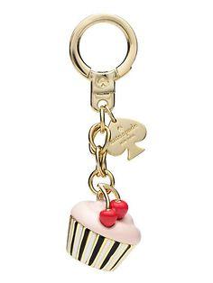 cupcake keychain - kate spade new york