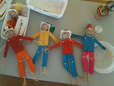 création d'un épouvantail  Atelier 3b la boite à idées créatives pour les enfants