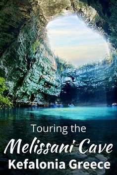 "On the eastern side of the island of Kefalonia in Greece there is a sunken lake call Melissani Cave. Also, known as the ""Cave of the Nymphs""."