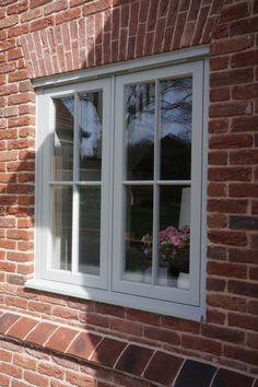 Timber Windows and doors manufactured to the highest possible standards by Mumford and Wood since Visit our website for more details. Front Doors With Windows, Timber Windows, Interior Windows, Casement Windows, Cottage Windows, House Windows, Window Frame Colours, Window Frames, Window Ideas