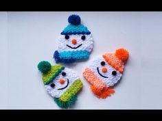 Crochet Hats, Make It Yourself, Christmas Ornaments, Holiday Decor, Youtube, Baby, Breien, Xmas Ornaments, Christmas Jewelry