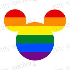 PRINTABLE Rainbow Mickey Ears Disney Vacation Iron On Transfer or Cruise Door Magnet Cruise Door, Disney Vacations, Family Vacations, Personalized Shirts, Mickey Ears, Iron On Transfer, Decor Crafts, Geek Stuff, Printables