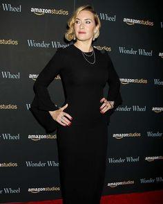 Kate Winslet Wonder Wheel Screening in NYC #wwceleb #katewinslet