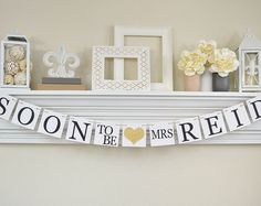Bridal Shower Decorations Bridal Shower Banners Soon To Be