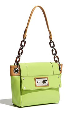 Milly shoulder bag. Neon and neutral~