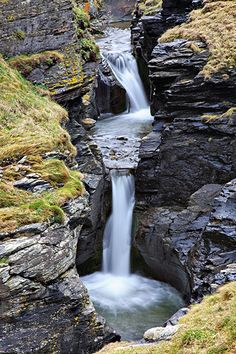 Rocky Valley Falls - Tintagel, Cornwall. If you only take one walk in your life, make it this one.