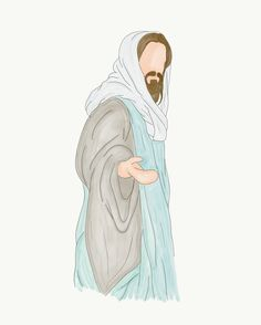 Jesus Christ Drawing, Jesus Christ Lds, Jesus Drawings, God Jesus, Images Du Christ, Pictures Of Jesus Christ, Jesus Wallpaper, Lds Art, Bible Art