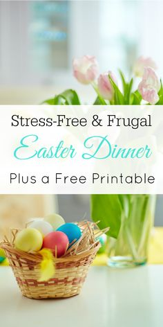 Unique last minute gift ideas for moms unique gifts unique and gift stress free and frugal easter dinner free printable easter dinner menu planner printable negle Images