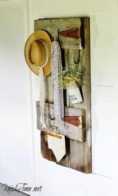 Barn Door Bedroom Hooksvia Knick of Time at KnickofTime.net